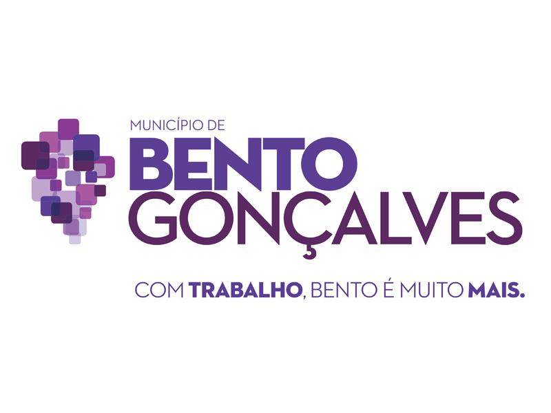 Logo prefeitura de Bento Gonçalves